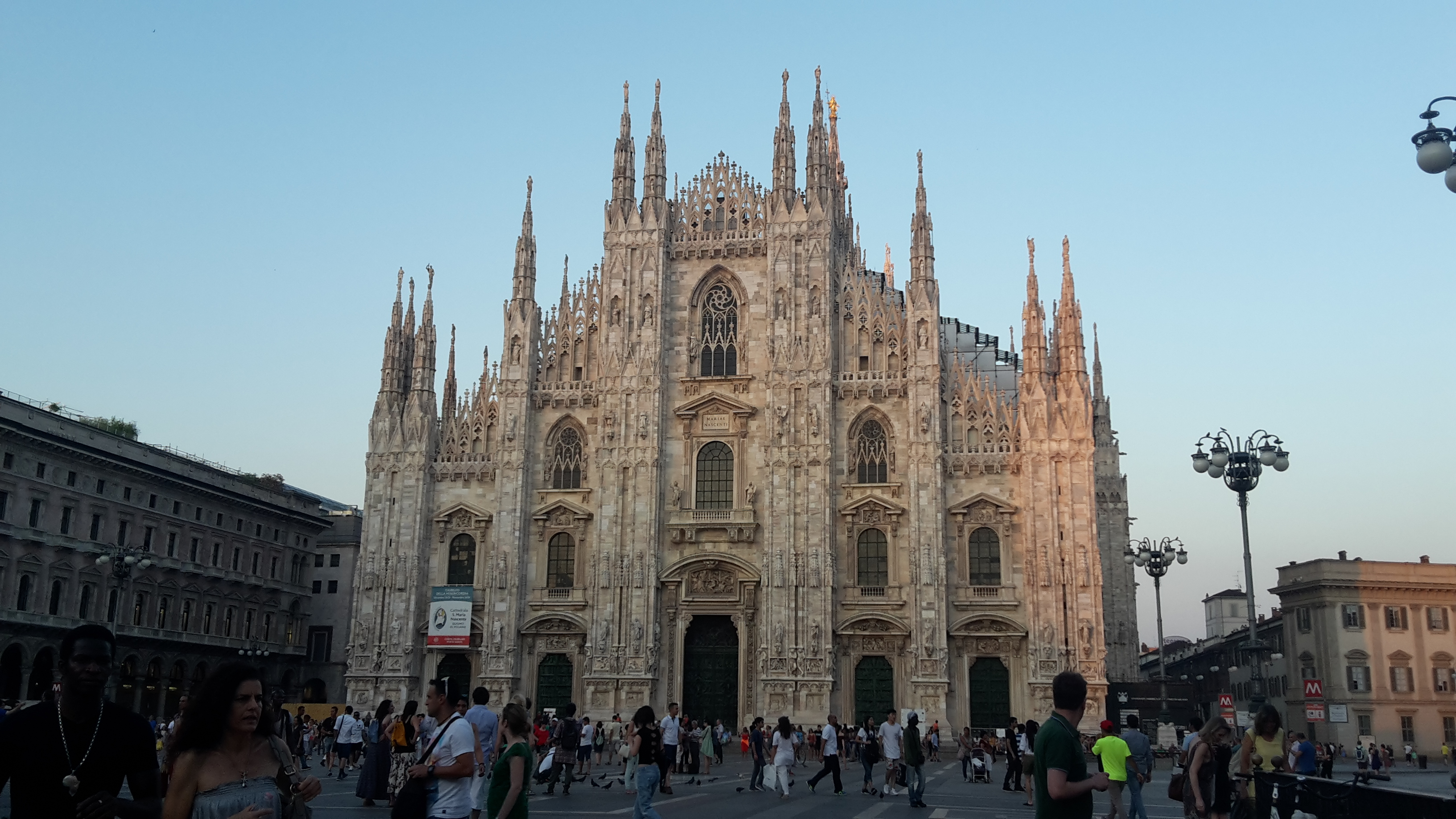 The Milan Duomo (cathedral)