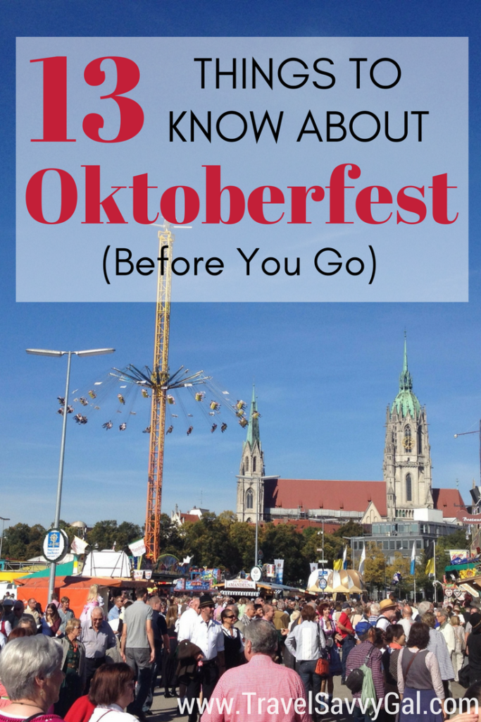 13 Things to Know About Oktoberfest in Munich Germany Before You Go