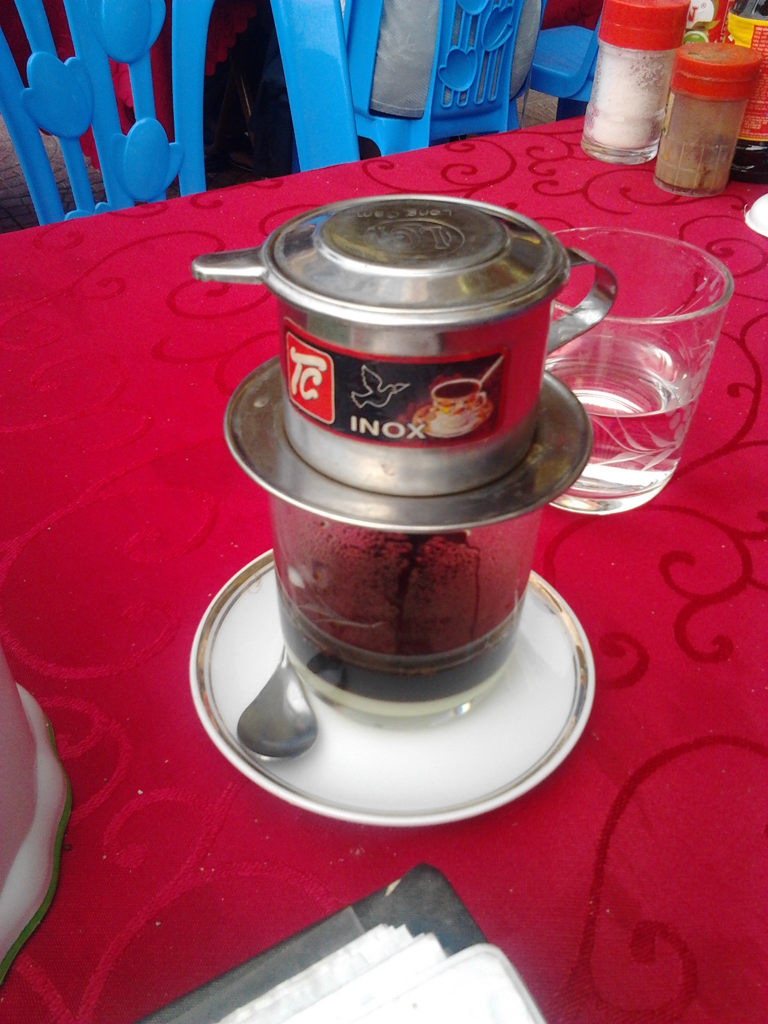 Individual percolator coffee