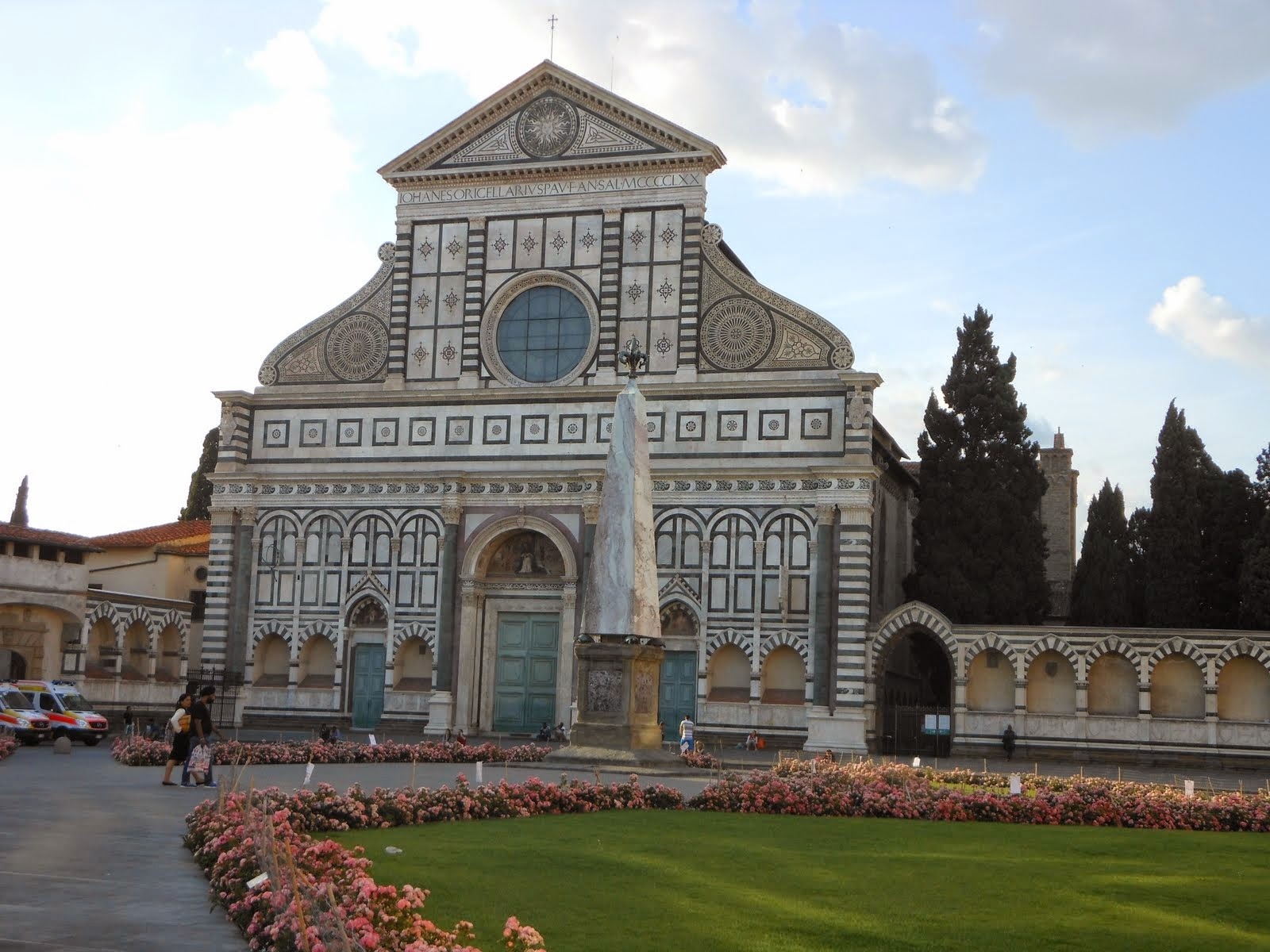 Basilica di Santa Maria Novella, right next to our hotel