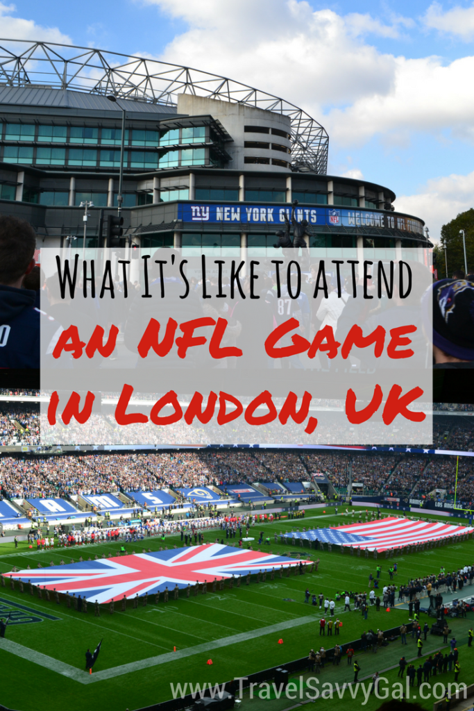 What It's Like to Attend an NFL Game in London, UK