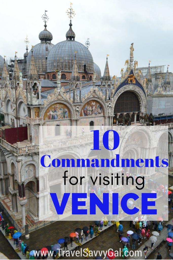 10 Commandments for Visiting Venice