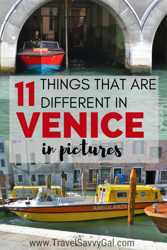 11 Things That Are Different in Venice Italy in pictures