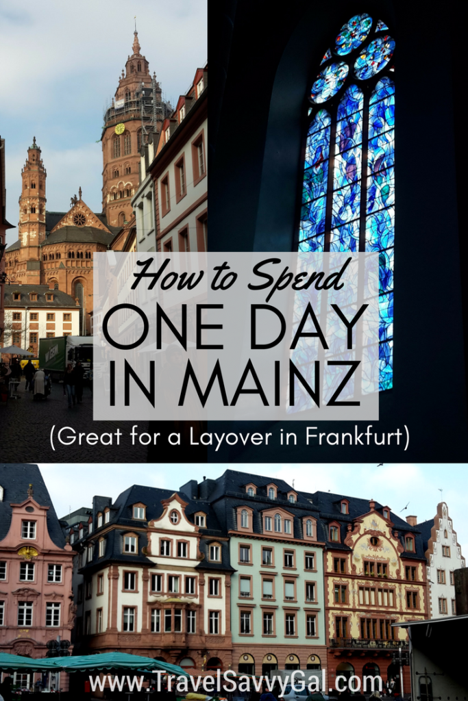 How to Spend One Day - 24 hours - in Mainz Germany