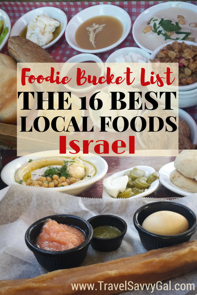 Insider Foodie Bucket List - the 16 Best Local Food and Drink Israel