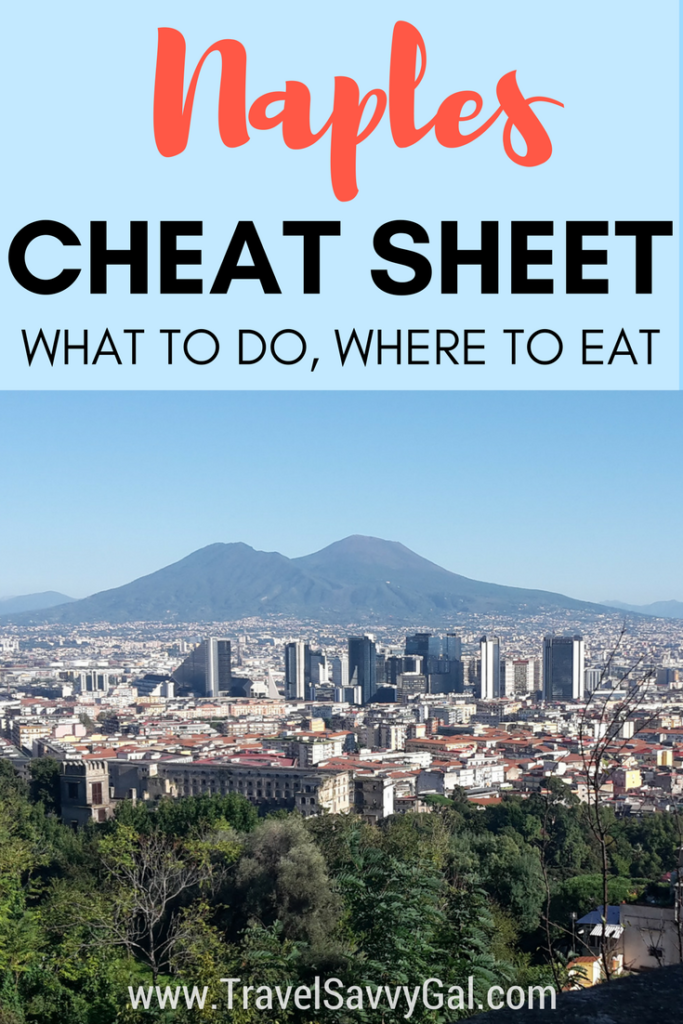 Naples Italy Cheat Sheet - What to Do and Where to Eat