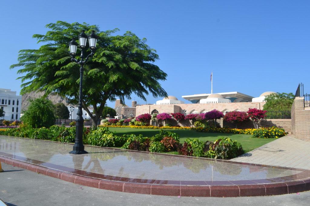 Al Alam Royal Sultan Palace Muscat Oman DSC_0542