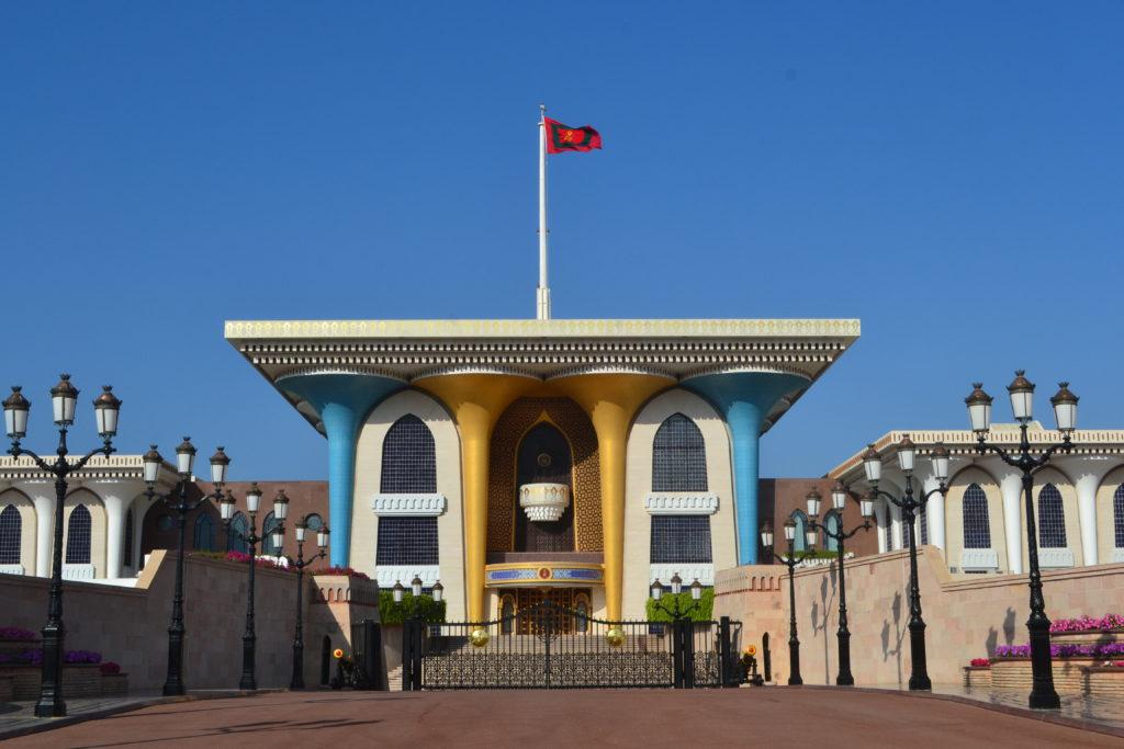 Al Alam Royal Sultan Palace Muscat Oman DSC_0610