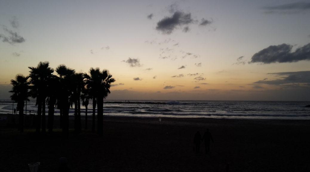 Featured Tel Aviv Israel Beach Sunset 20151203_165129