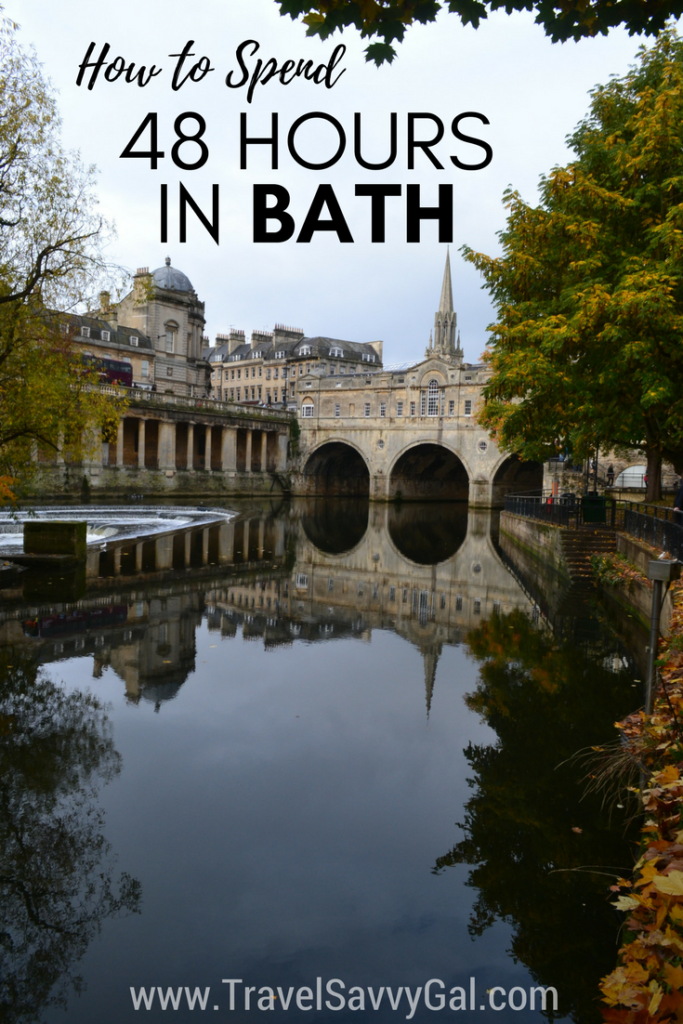 How to Spend Two Days - 48 Hours - in Bath UK