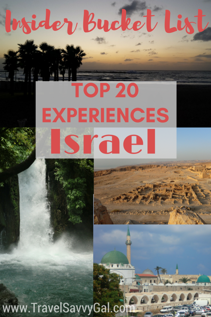Insider Bucket List - Top 20 Experience in Israel