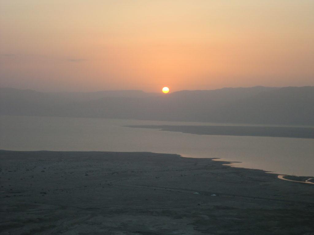 Masada Israel Sunrise CIMG0646