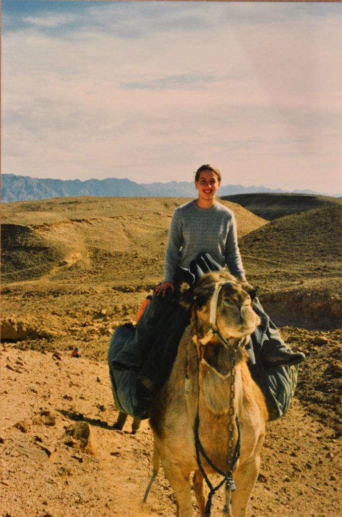 Negev Desert Me on a Camel Israel (2)