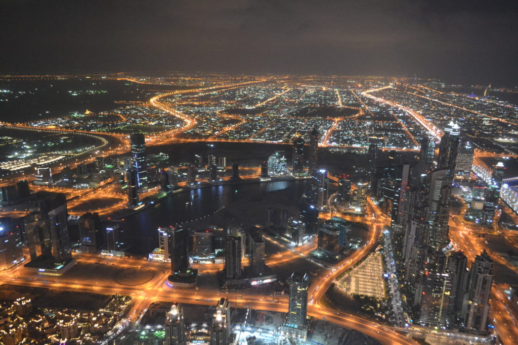 What It's Like to Go Up Dubai's Burj Khalifa, World's