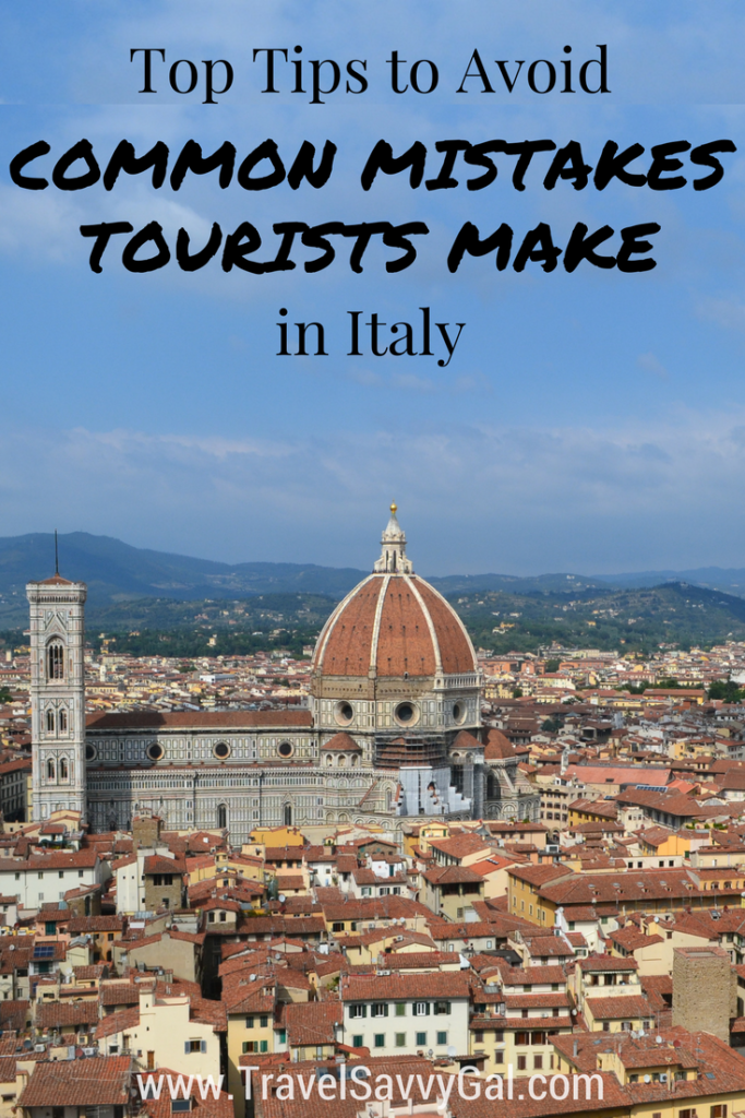 Top Tips to Avoid Common Mistakes Tourists Make in Italy