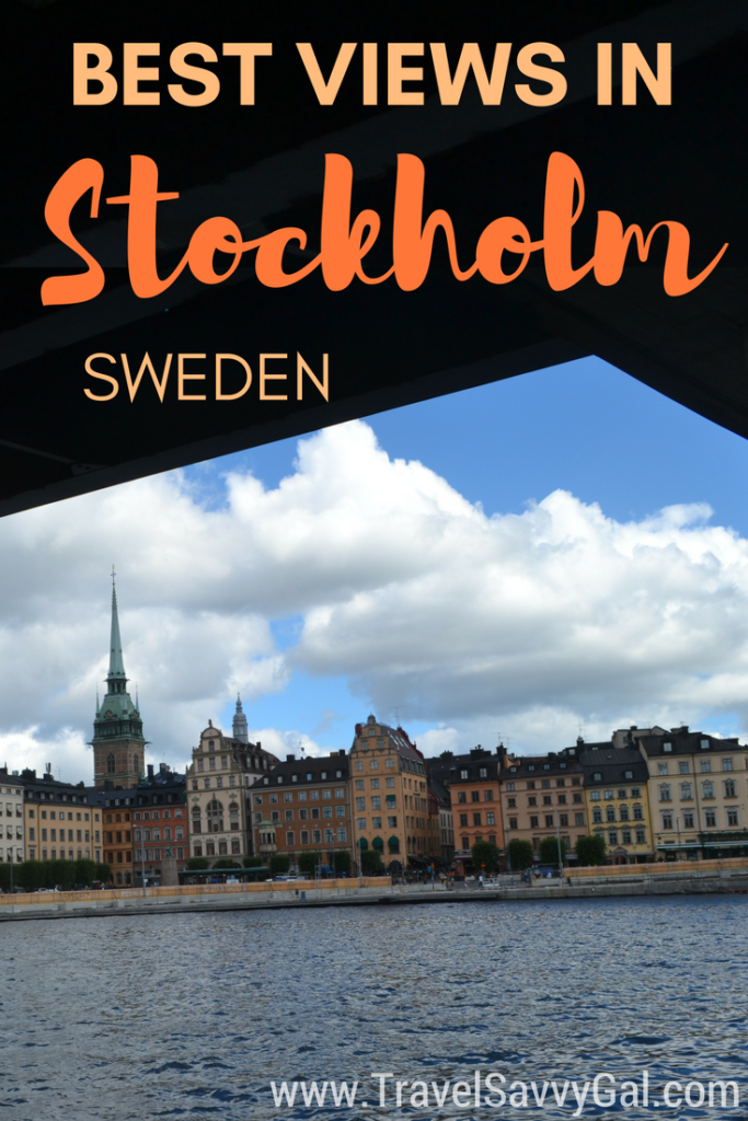 Where to Find the Best Views in Stockholm Sweden