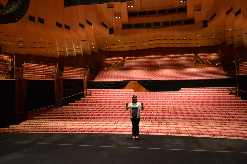 Conducting on Stage Opera House Sydney Australia DSC_0571
