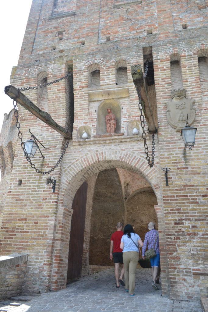 Gate into Corinaldo