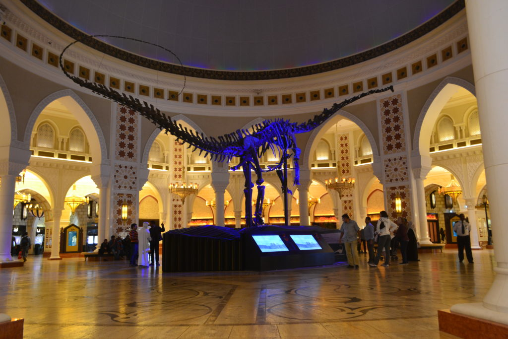 Dinosaur Dubai Mall UAE DSC_0024