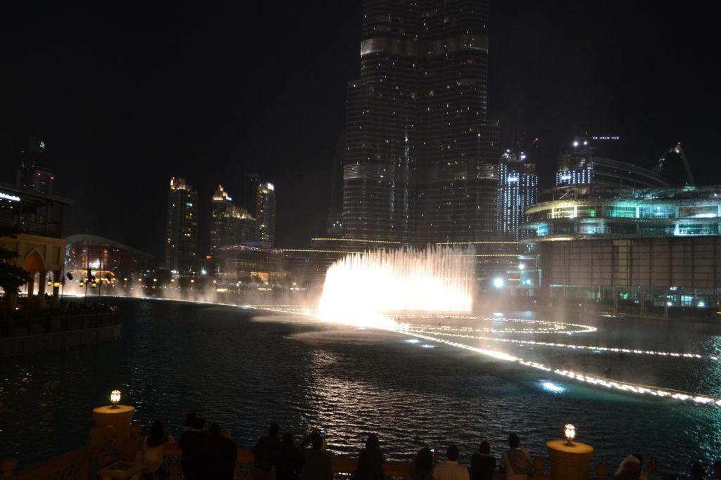 Dubai Fountain Show Dubai Mall UAE DSC_0063