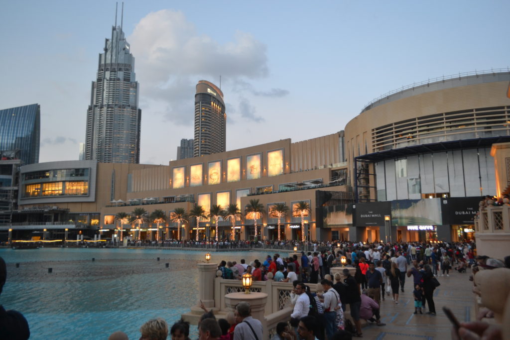 Dubai Fountain Show Dubai Mall UAE DSC_0836