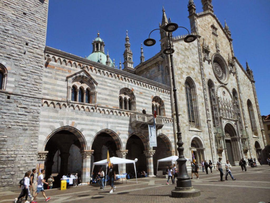 Duomo Cathedral Lake Como Italy