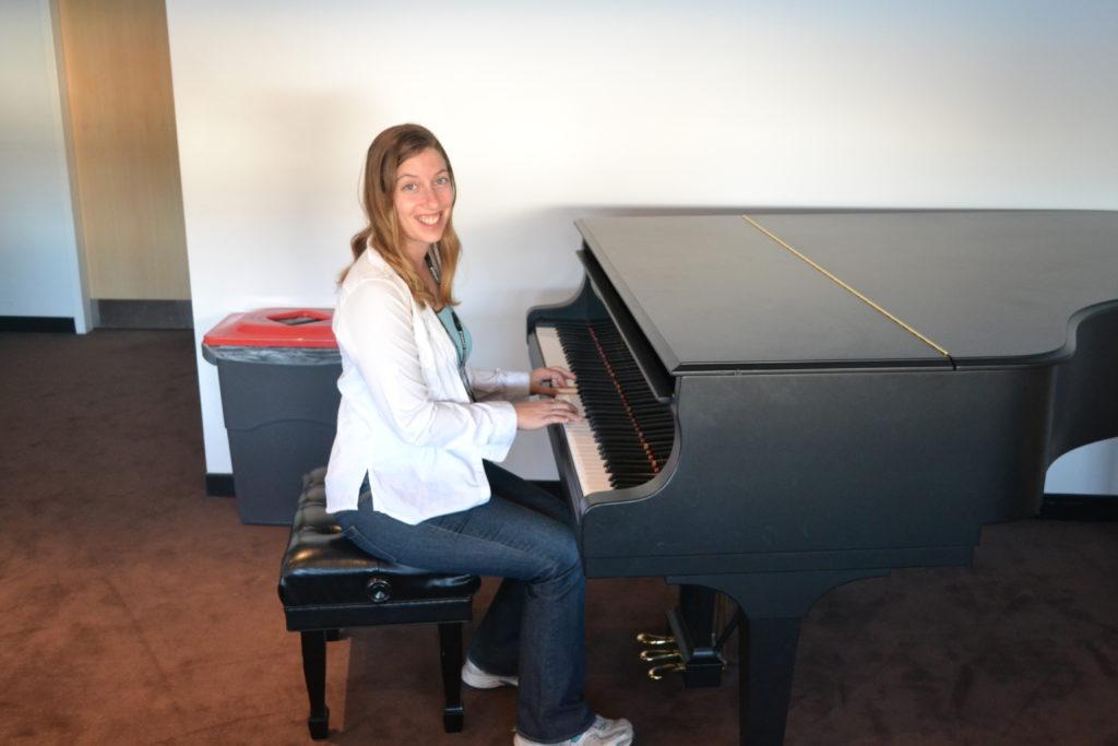 Green Room piano Opera House Sydney Australia DSC_0587