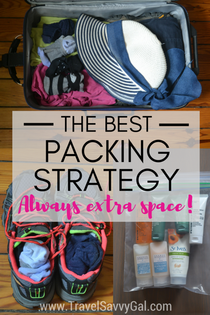 The Best Packing Strategy to Always Have Extra Space - Travel Hack