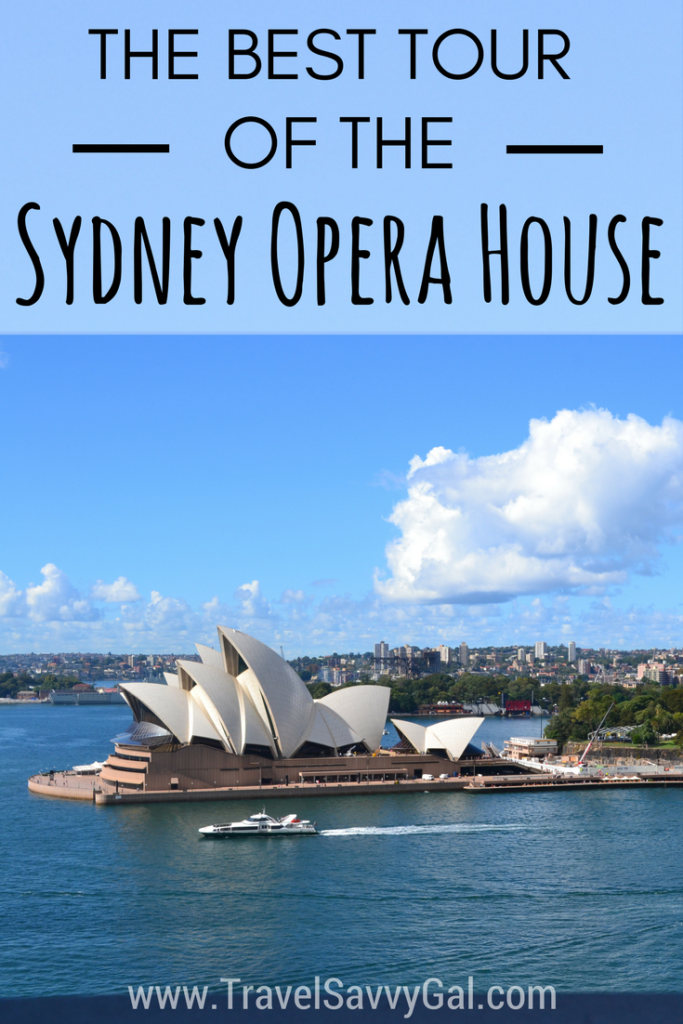 The Best Tour of the Sydney Opera House - Backstage at 7am Australia