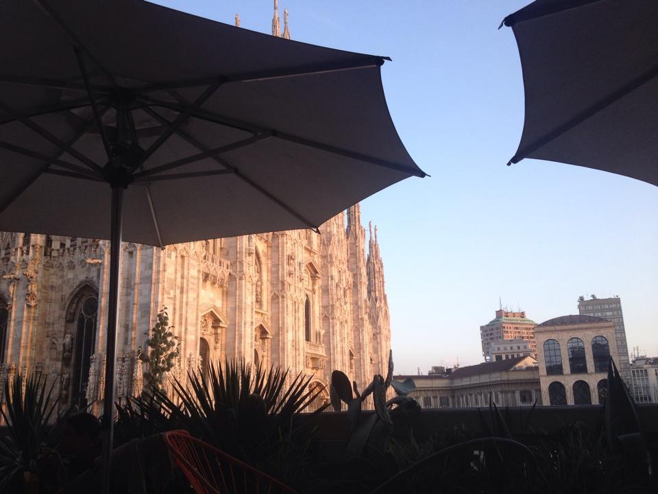 Aperol Terrace Rooftop Bar Milan Italy Summer Bucket List