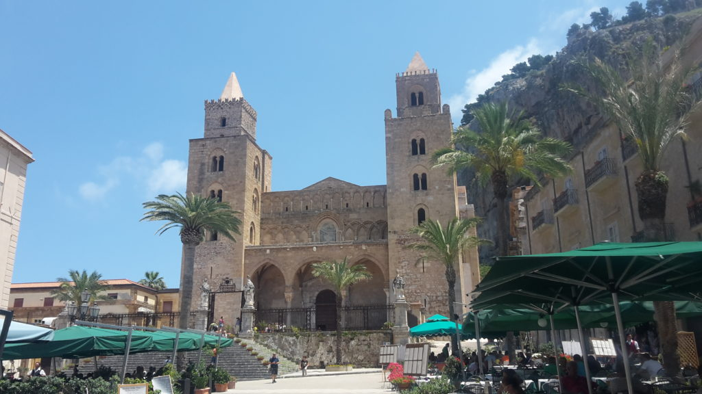 Cathedral Cefalu Sicily Italy20150621_131342