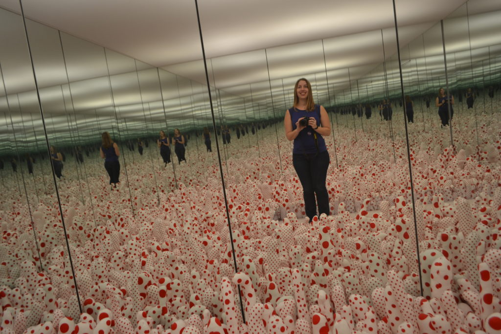 Yayoi Kusama S Art Exhibitions I Ve Seen Amp Where To Catch Her Next Travel Savvy Gal