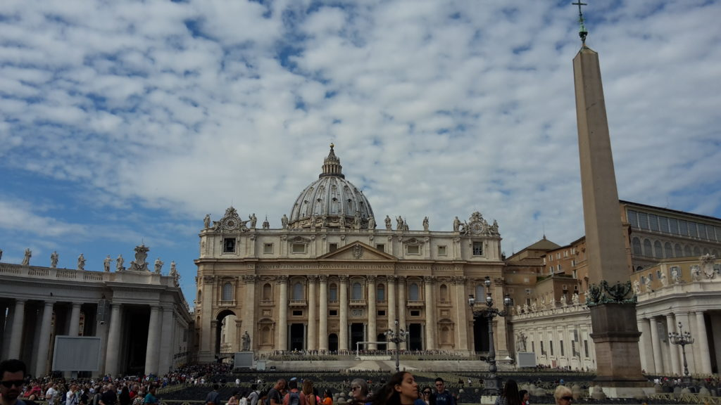 St. Peter's Vatican City Holy See Rules to Travel By 20150928_112240