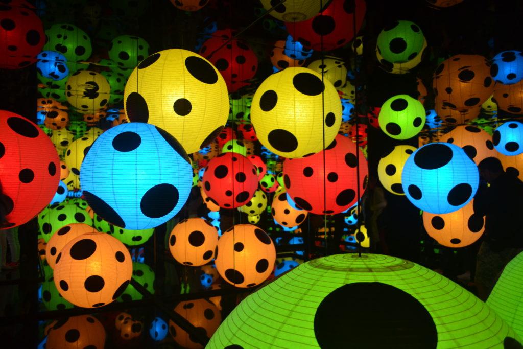 Stockholm Infinity Mirror Room Kusama Exhibit Moderna Museet Stockholm Sweden DSC_0606