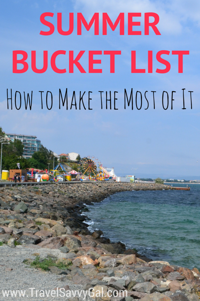 Summer Bucket List - How to Make the Most of the Season