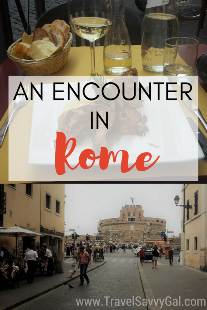 An Encounter in Rome Italy