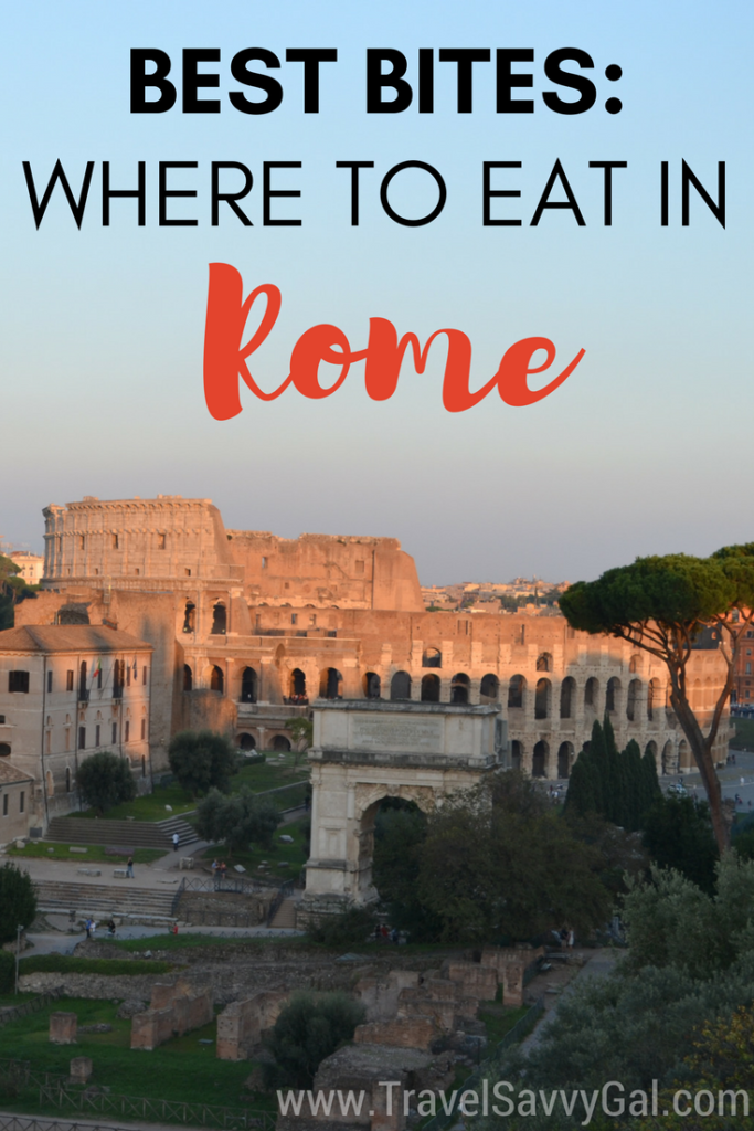 Best Bites - Where to Eat in Rome Italy