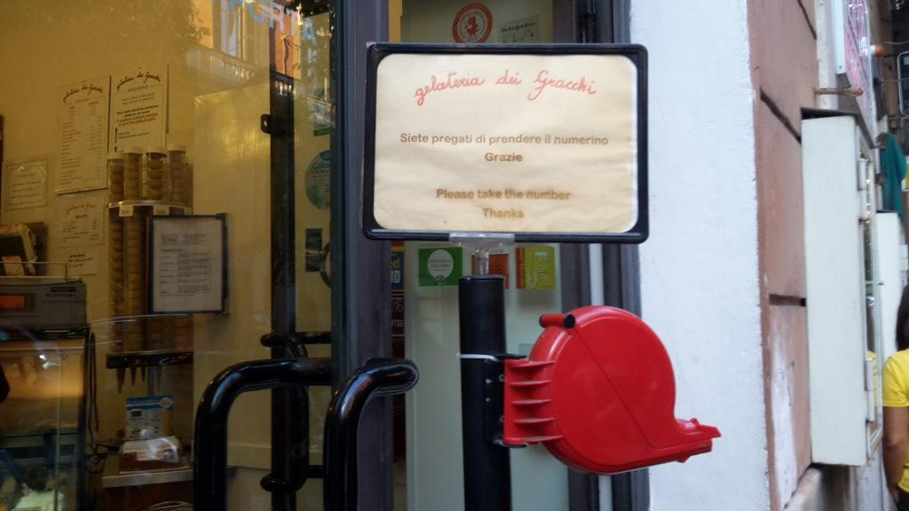 Gelateria dei Gracchi Where to Eat in Rome Italy 20160928_180954