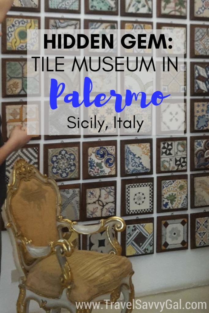 Hidden Gem Palermo Tile Museum Stanze al Genio Palermo Sicily Italy