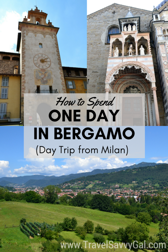 How to Spend One Day in Bergamo Italy - Day Trip from Milan