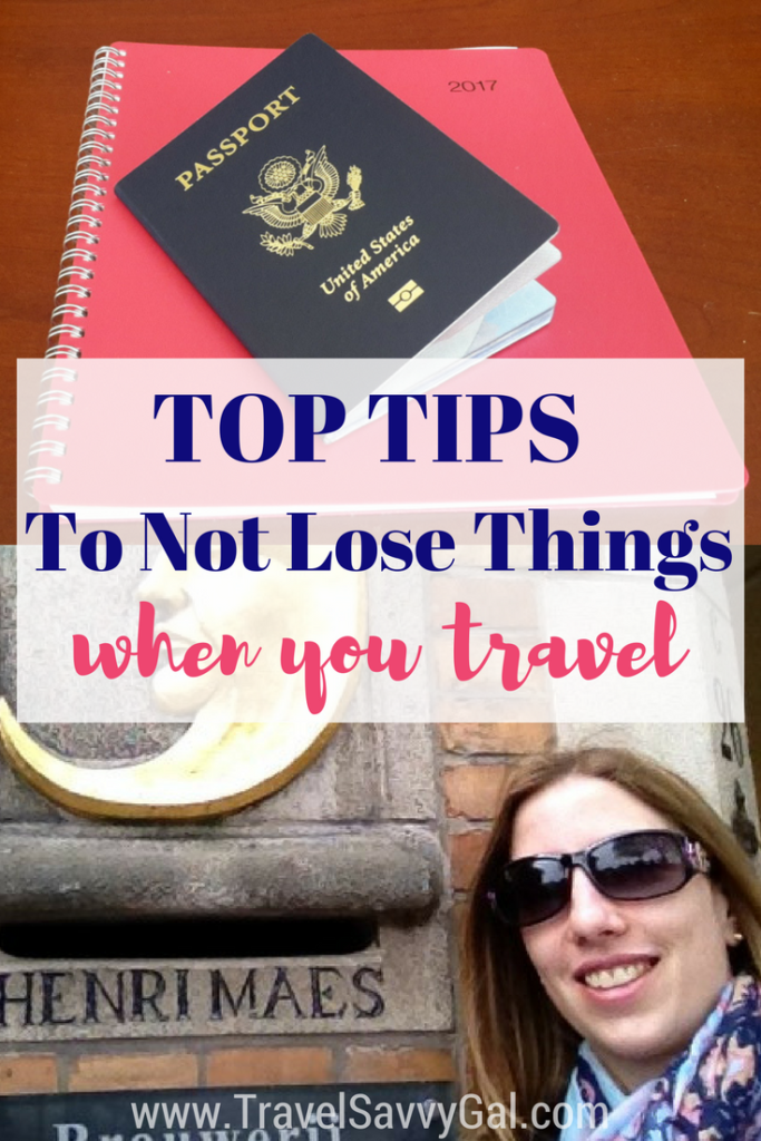 Top tips for not losing things when you travel and how to handle it when you do