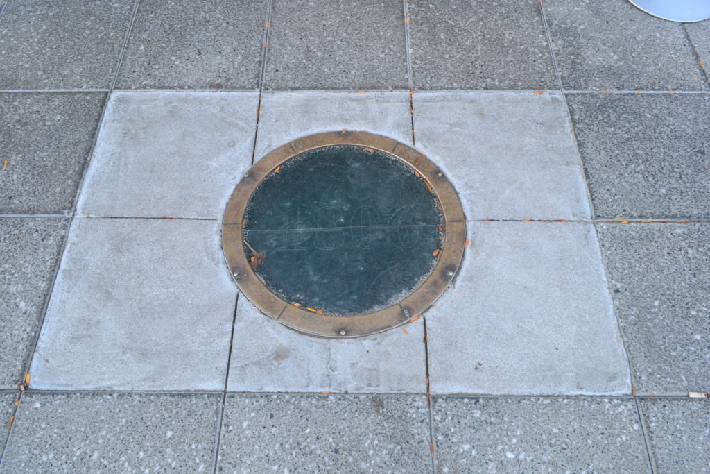 Zero Mile Marker Point of Origin Finding Zero Mile Detroit Michigan DSC_0255