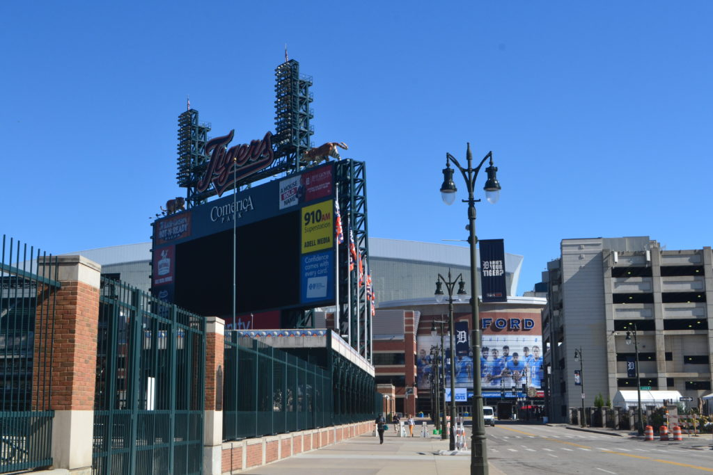 Major Sports Arenas Downtown Fun Facts Things to Know About Detroit Michigan Before You Visit DSC_0434