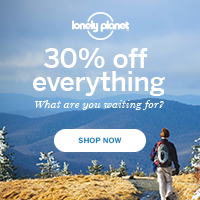 Lonely Planet 30 percent discount