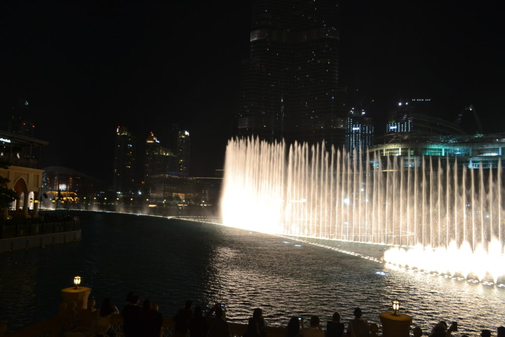 Dubai Fountain Dubai Mall UAE Best Light Shows Around the World DSC_0064