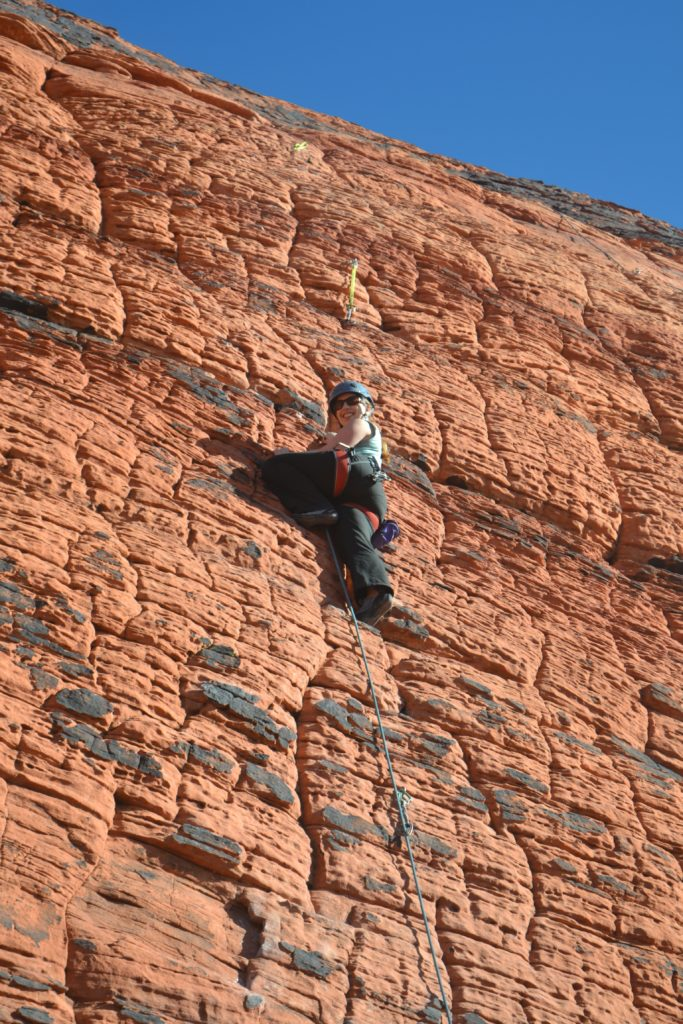 Red Rock Las Vegas: Rock Climbing In Red Rock Canyon: Day Trip From Las Vegas